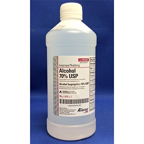 Pro Advantage Isopropyl Alcohol 70% 16oz Pint - P907016